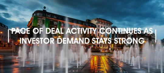 pace-of-deal-activity-continues-investor-demand-stays-strong