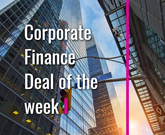 Corporate Finance Deal Announcement