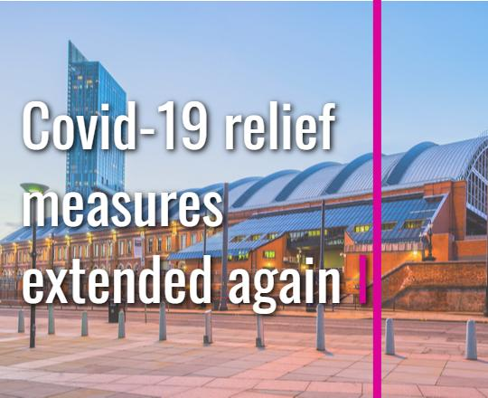 Covid-19 relief measures extended again