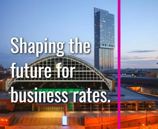 Shaping the future for business rates