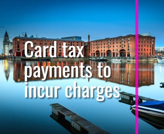 card tax payments