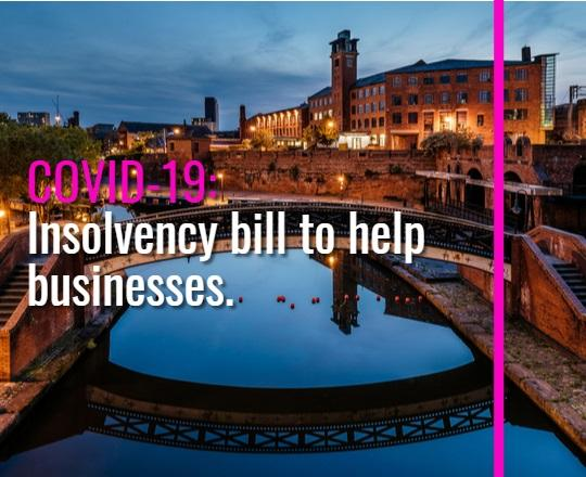 Insolvency bill to help businesses