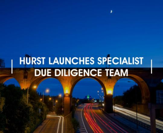 hurst launches specialist due diligence team